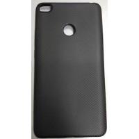 Чехол-накладка Carbon для Xiaomi Mi MAX 2 (Черный)