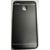 Чехол-накладка Metal для Xiaomi Redmi 4X (Черный)