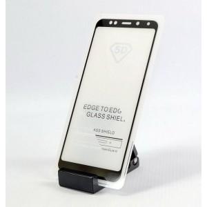 Защитное стекло 5D для Xiaomi Redmi Note 5 Pro (black)