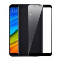 Защитное стекло 3D для Xiaomi Redmi 5 Plus (black)