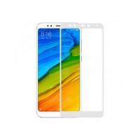 Защитное стекло 3D для Xiaomi Redmi Note 5A (white)