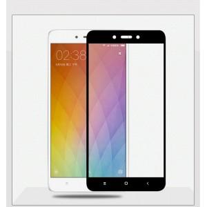 Защитное стекло для Xiaomi Redmi Note 4X (black)