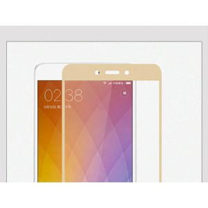 Защитное стекло для Xiaomi Redmi Note 4X (gold)