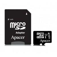 Карта памяти Apacer microSDHC UHS-I 16GB сlass10+SD
