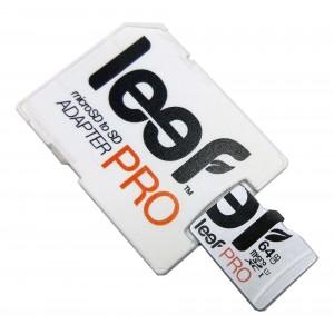 Карта памяти Leef PRO microSDXC UHS-I 64GB сlass10+SD