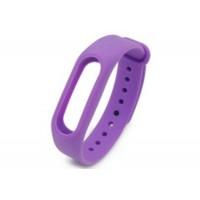 Ремешок для браслета Xiaomi Mi Band 2 purple-white