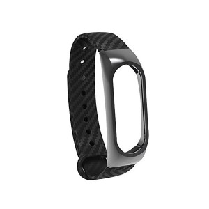 Ремешок MiJobs для Xiaomi Mi Band 2 Carbon Black