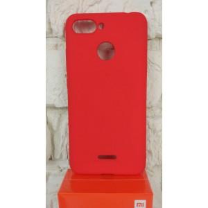 Чехол MOLAN CANO (Red) для Xiaomi Redmi 6