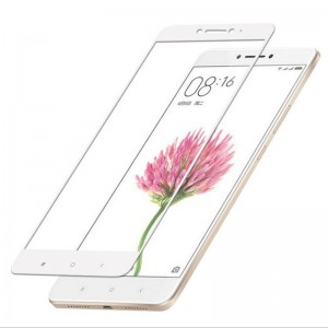 Защитное стекло для Xiaomi Mi Max 2 (white)