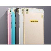 Чехол-накладка Aluminium для Lenovo K3 Note gold