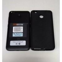Бампер TPU Carbon (Black) для Xiaomi Redmi 4X