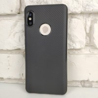 Чехол-накладка Carbon для Xiaomi Redmi Note 5 (Black)