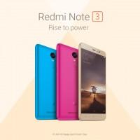 Xiaomi в Индии выпустит Redmi Note 3 в голубом и розовом цвете